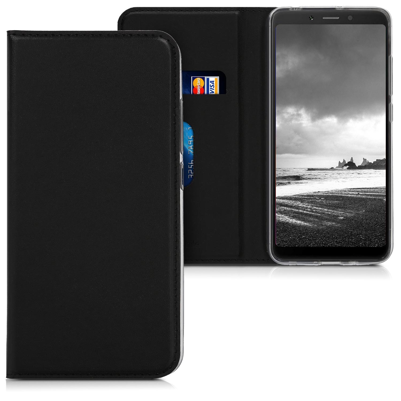 KW Θήκη-Flip για Xiaomi Redmi 6A - Black (46140.01)