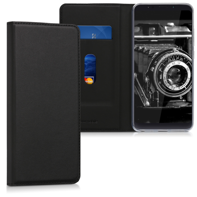 KW Θήκη-Flip για Xiaomi Redmi Note 5 / Note 5 Pro - Black (45448.01)