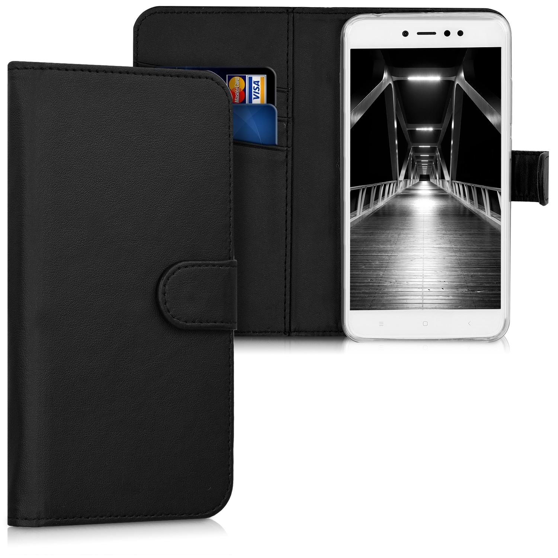 KW Θήκη - Πορτοφόλι Xiaomi Redmi Note 5A / Y1 - Black (44660.01)