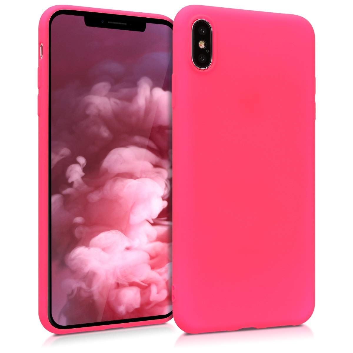 KW Θήκη Σιλικόνης iPhone XS Max - Neon Pink (45917.77)