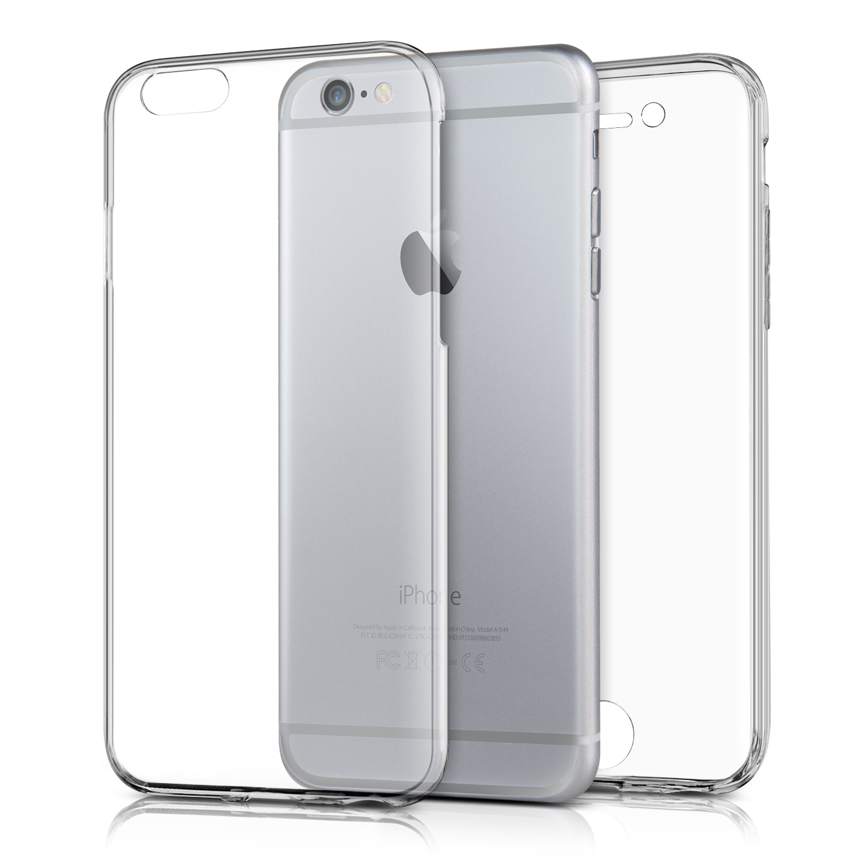 KW Διάφανη Θήκη Σιλικόνης Full Body iPhone 6 / 6S - Transparent (37750.03)