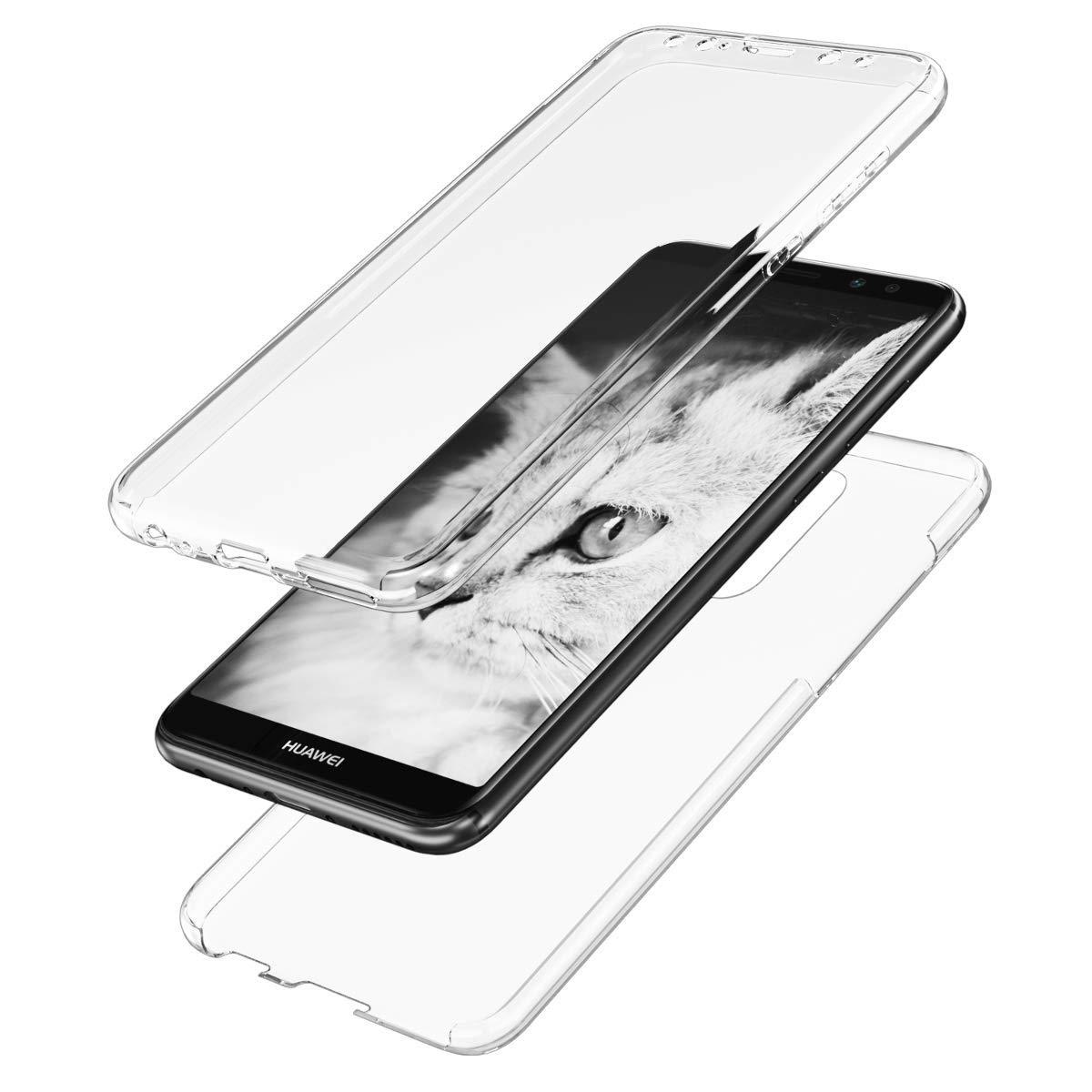 KW Διάφανη Θήκη Σιλικόνης Full Body Huawei Mate 10 Lite - Transparent (46393.03)
