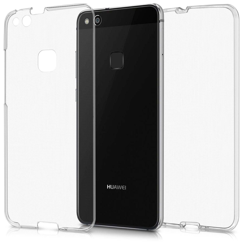 KW Διάφανη Θήκη Σιλικόνης Full Body Huawei P10 Lite - Transparent (41387.03)