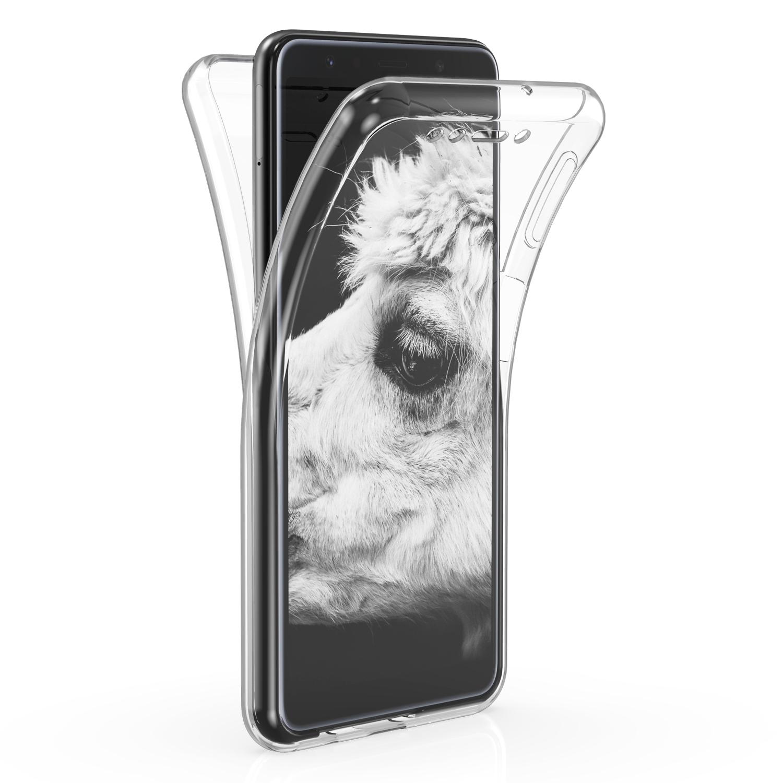 KW Διάφανη Θήκη Σιλικόνης Full Body Samsung Galaxy A7 2018 - Transparent (46420.03)