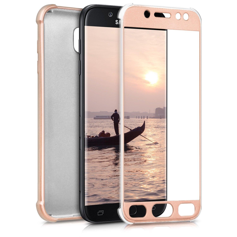 KW Θήκη Σιλικόνης Full Body Samsung Galaxy J5 2017 - Metallic Rosegold (42757.31)