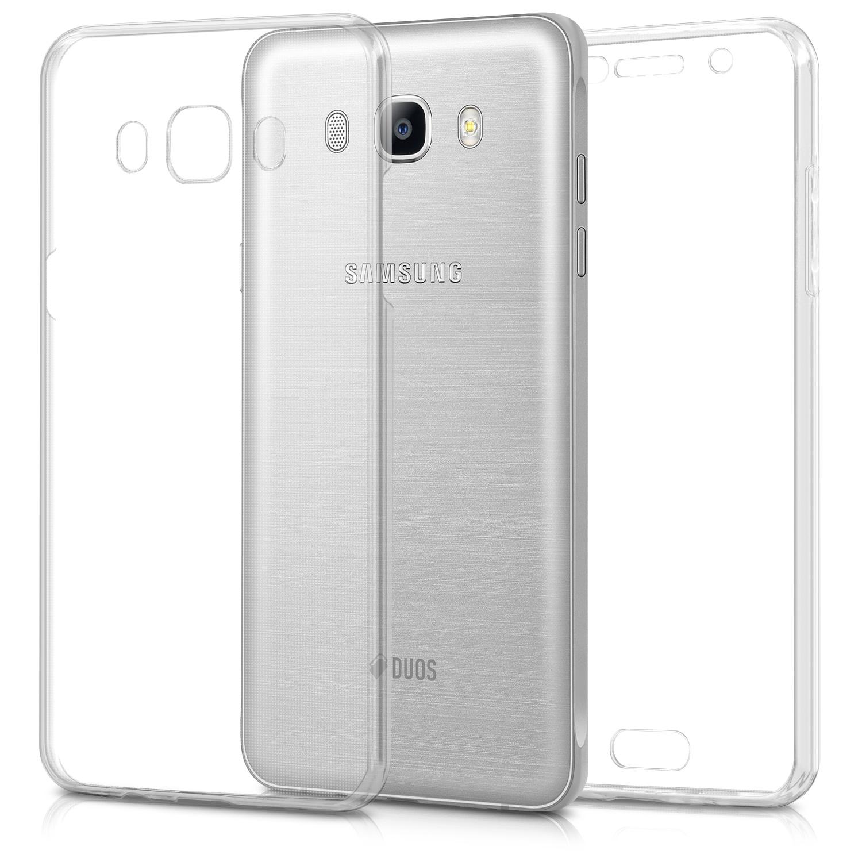KW Διάφανη Θήκη Σιλικόνης Full Body Samsung Galaxy J5 2016 - Transparent (40222.03)
