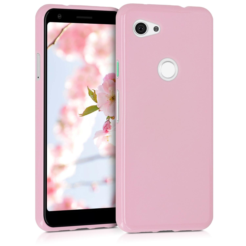 KW Θήκη Σιλικόνης Google Pixel 3a - Dusty Pink (47590.10)