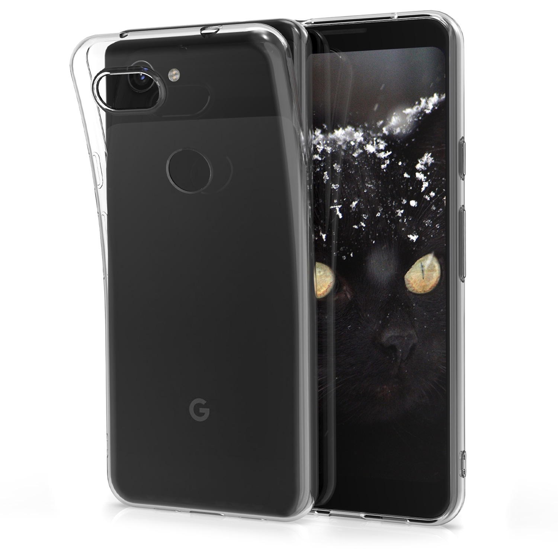 KW Θήκη Σιλικόνης Google Pixel 3a XL - Transparent (48844.03)