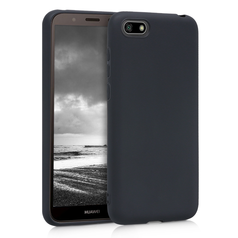 KW Θήκη Σιλικόνης Huawei Y5 / Y5 Prime 2018 - Black Matte (45283.47)