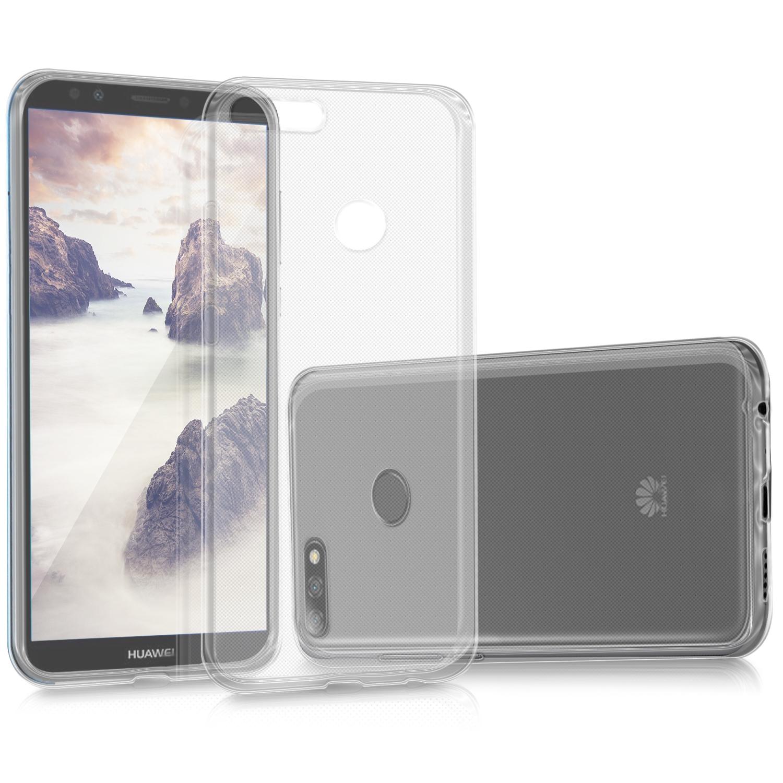 KW Διάφανη Θήκη Σιλικόνης Huawei Y7/ Y7 Prime 2018 - Transparent (44820.03)