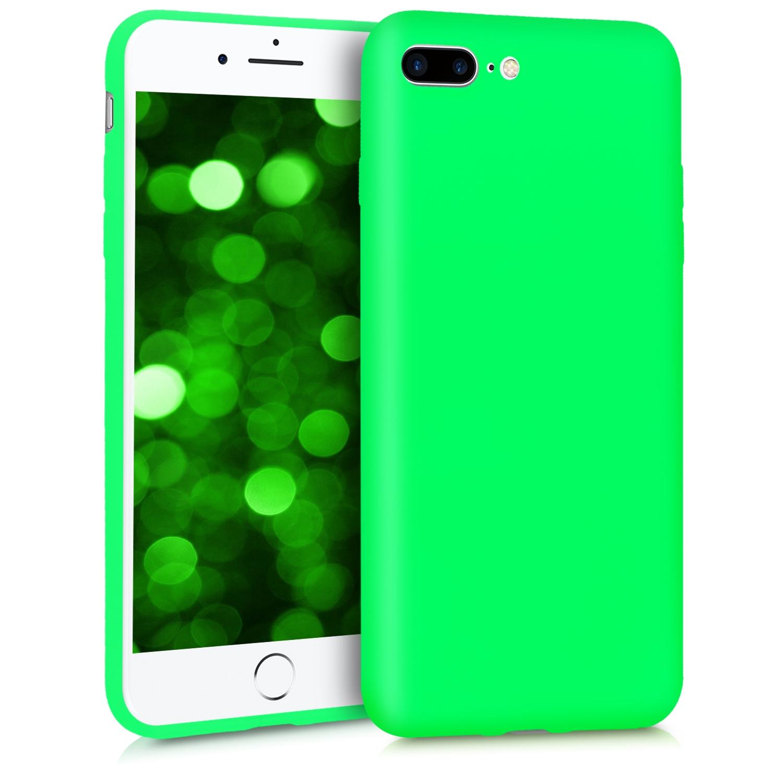 KW Θήκη Σιλικόνης iPhone 8 Plus / iPhone 7 Plus - Neon Green (45354.44)