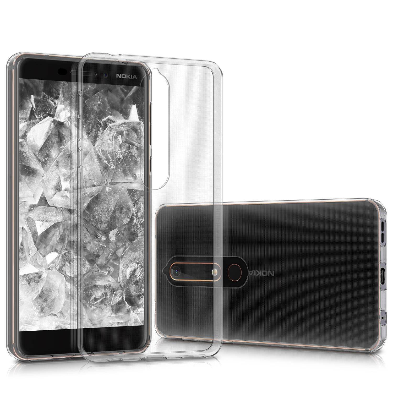 KW Διάφανη Θήκη Σιλικόνης Nokia 6.1 / Nokia 6 2018 - Transparent (44199.03)