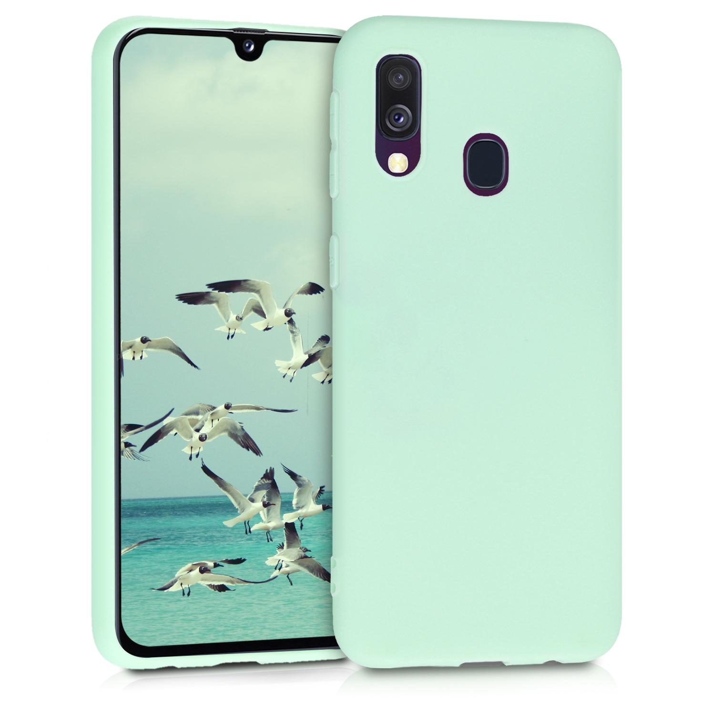 KW Θήκη Σιλικόνης Samsung Galaxy A40 - Mint Matte (48547.50)