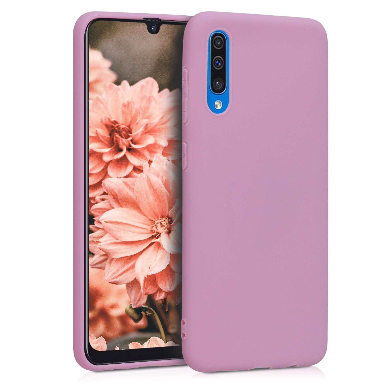 KW Θήκη Σιλικόνης Samsung Galaxy A50 - Antique Pink Matte (48054.52)