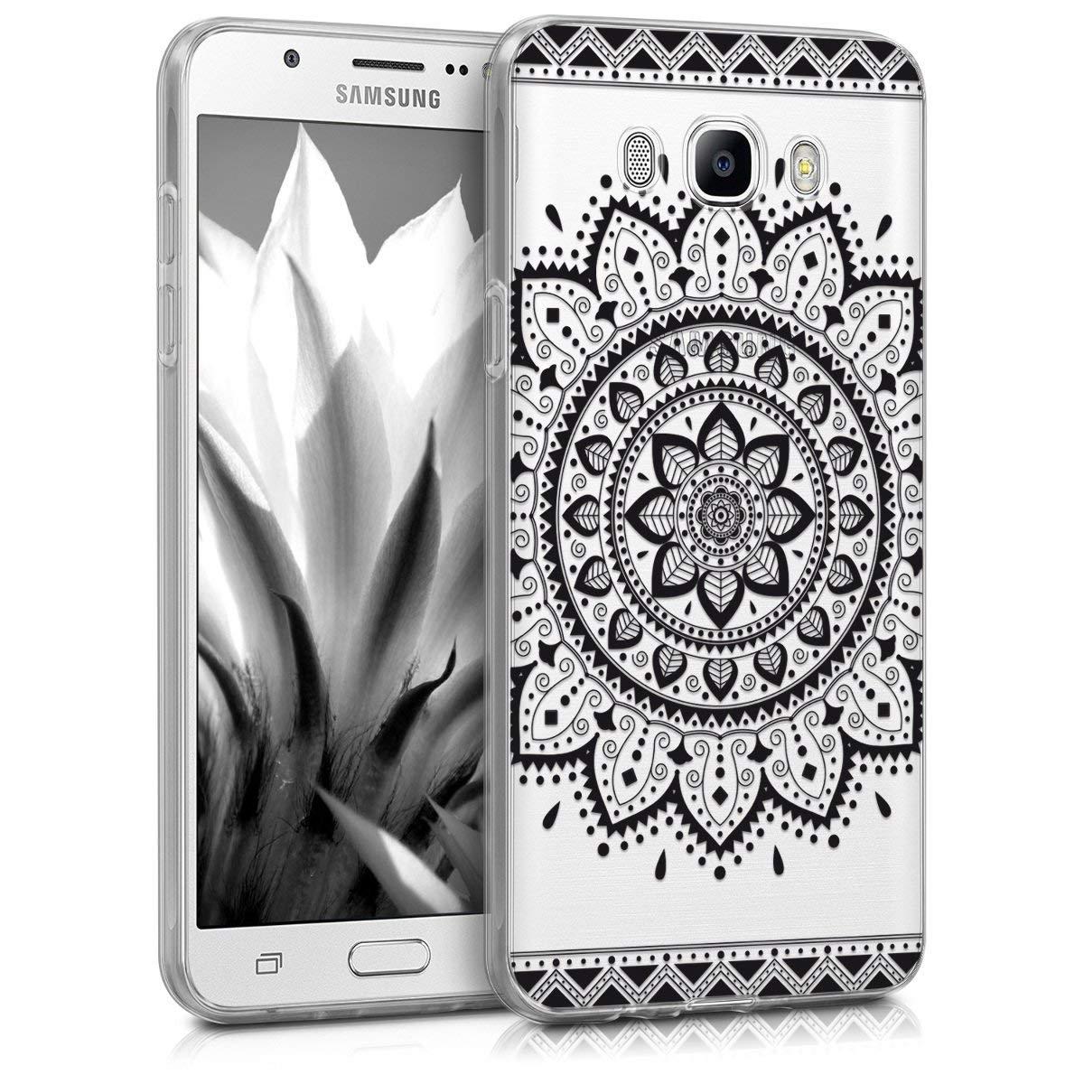 KW Διάφανη Θήκη Σιλικόνης Samsung Galaxy J7 2016 - Mexican Sunflower Design (40616.03)