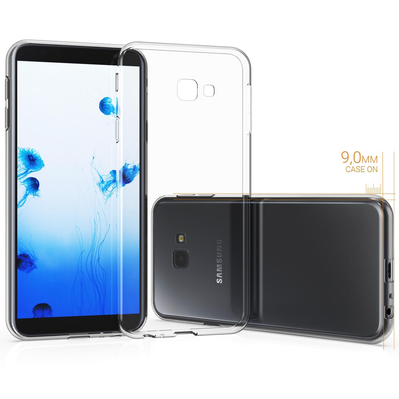KW Θήκη Σιλικόνης Samsung Galaxy J4 Plus 2018 - Transparent (46431.03)