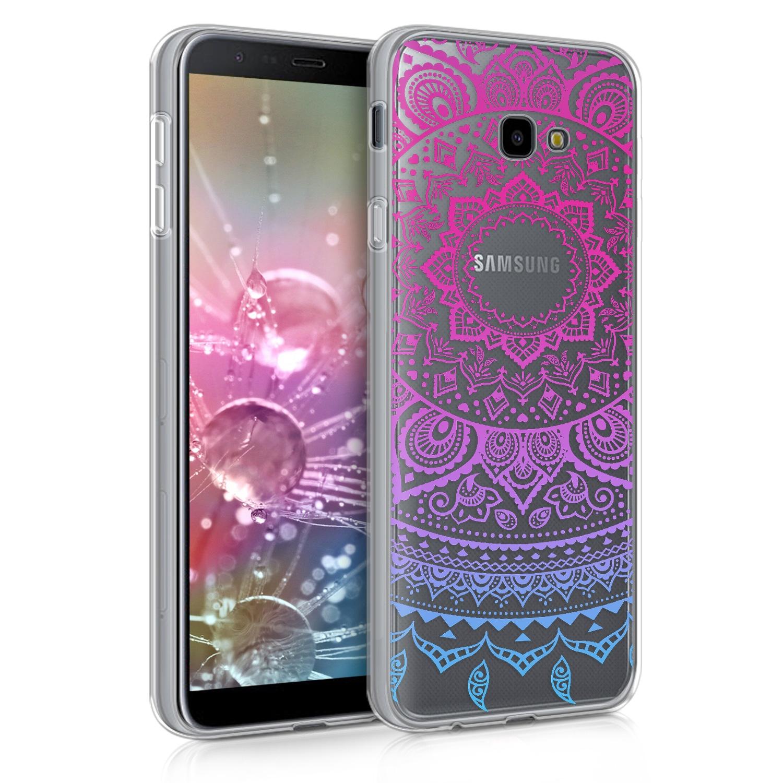 KW Θήκη Σιλικόνης Samsung Galaxy J4 Plus 2018 - Blue Dark/ Pink Indian Sun (46438.02)
