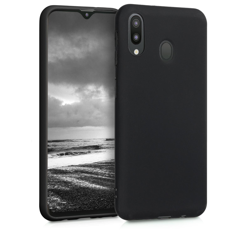 KW Θήκη Σιλικόνης Samsung Galaxy M20 - Black Matte (48309.47)