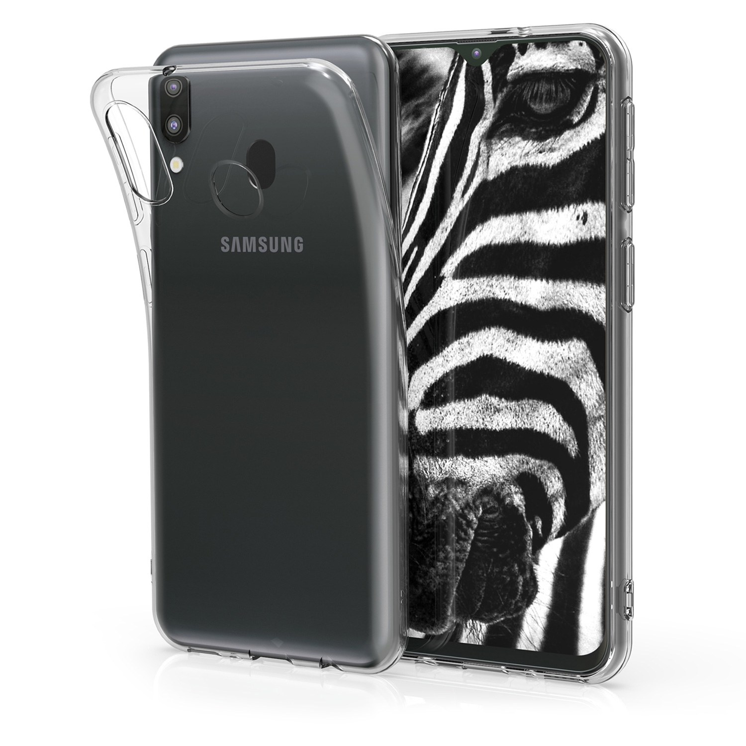 KW Θήκη Σιλικόνης Samsung Galaxy M20 (2019) - Transparent (48308.03)