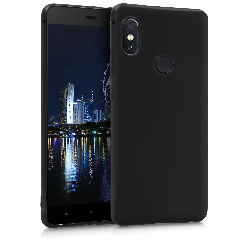 KW Θήκη Σιλικόνης Xiaomi Redmi Note 5 - Black (44664.47)