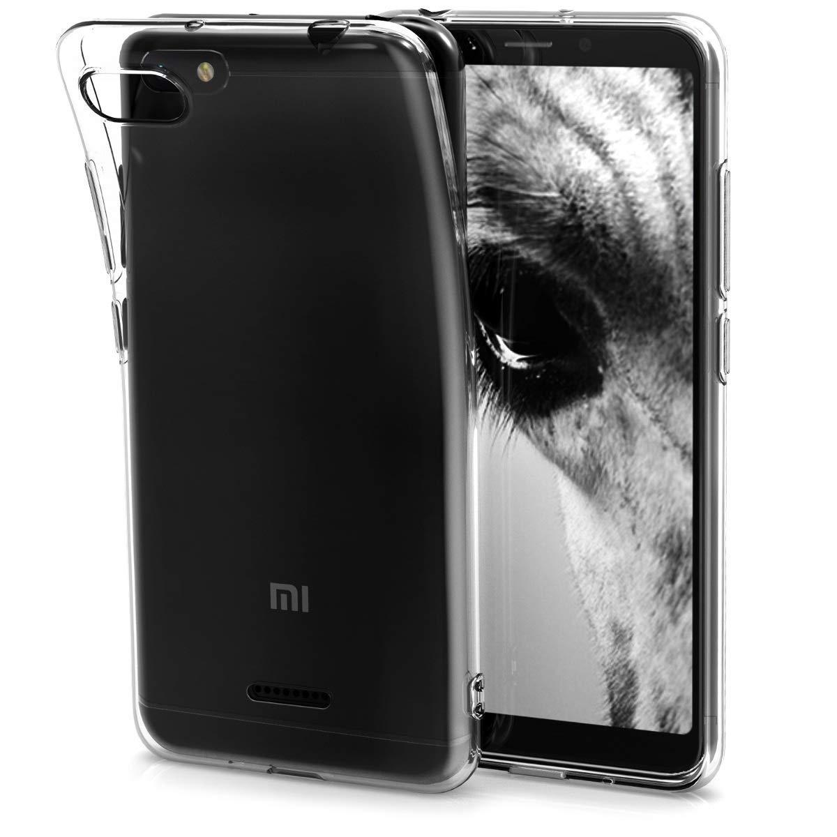 KW Διάφανη Θήκη Σιλικόνης Xiaomi Redmi 6A - Transparent (45584.03)
