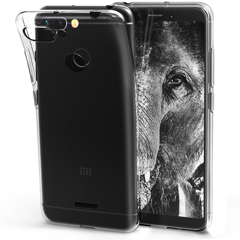 KW Διάφανη Θήκη Σιλικόνης Xiaomi Redmi 6 - Transparent (45582.03)