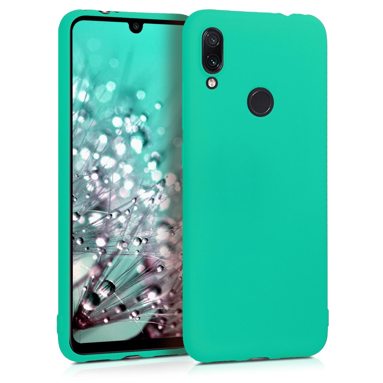 KW Θήκη Σιλικόνης Xiaomi Redmi Note 7 / Note 7 Pro - Neon Turquoise (48153.126)