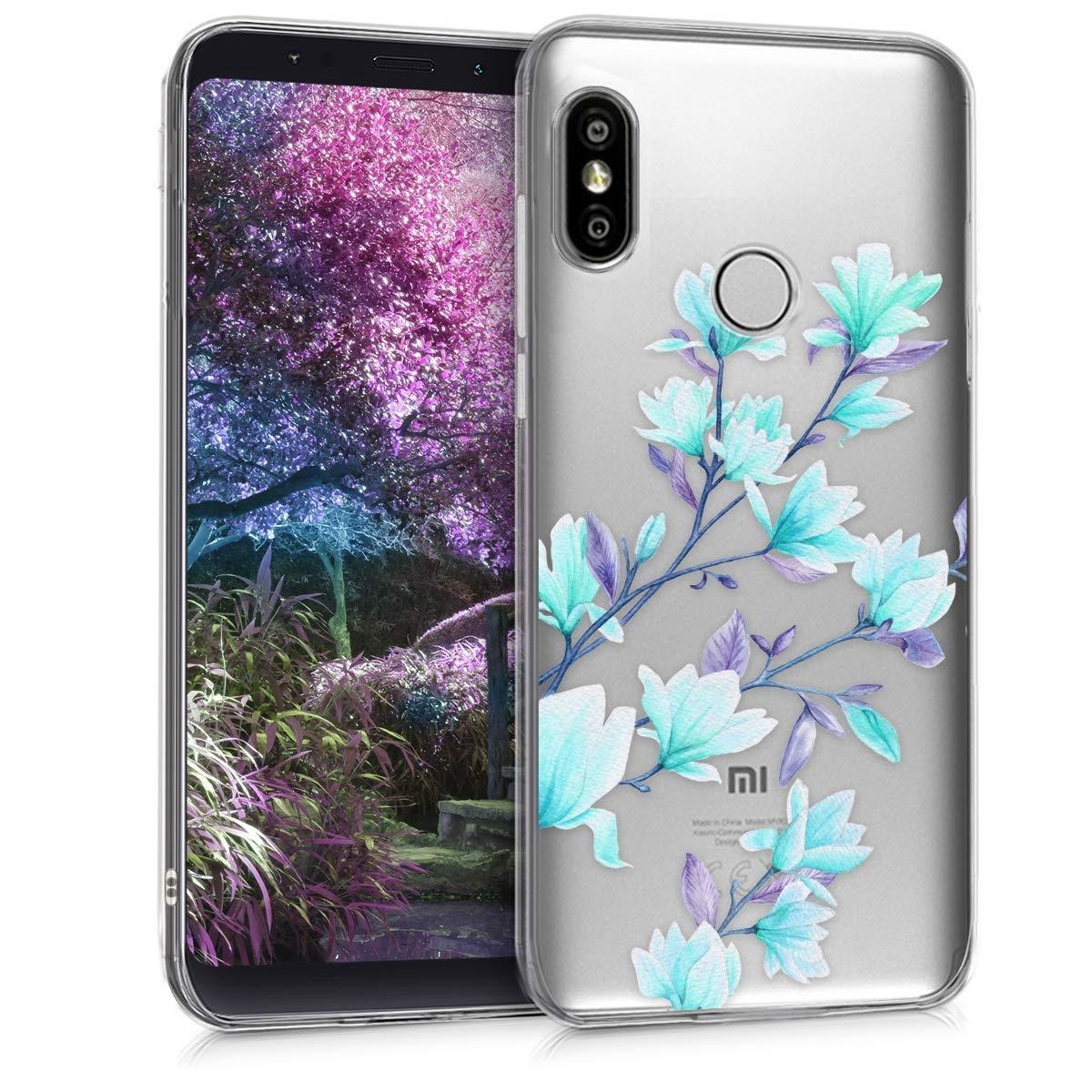 KW Θήκη Σιλικόνης Xiaomi Redmi S2 - Magnolias Blue Violet (45880.01)