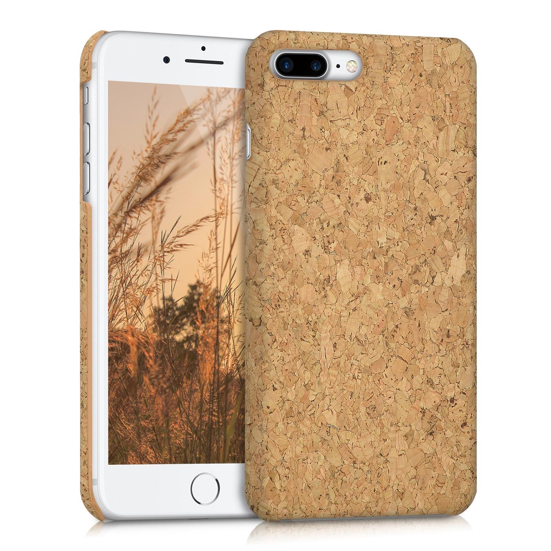 KW Σκληρή Θήκη iPhone 8 Plus / iPhone 7 Plus- Light Brown Cork (39502.24)