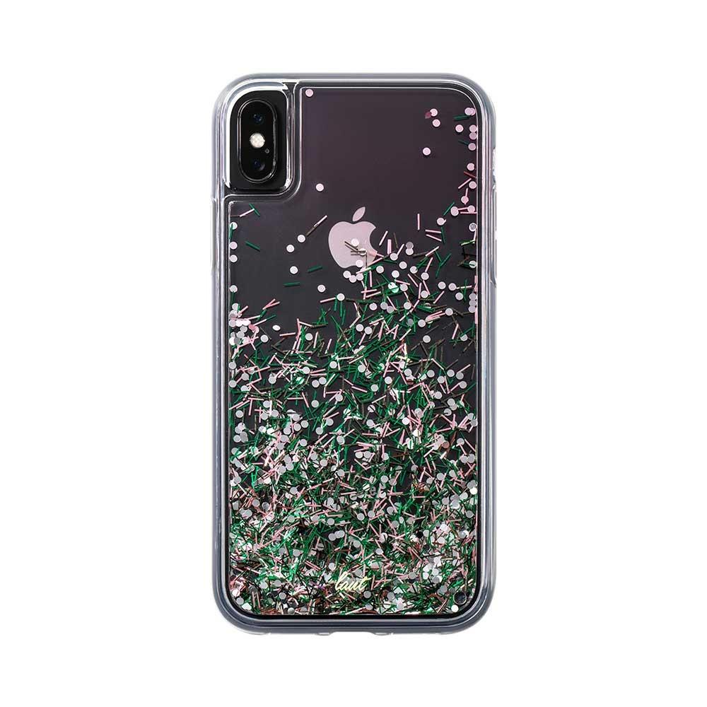 Laut Θήκη Liquid Glitter iPhone XS Max - Confetti Pastel (48916)