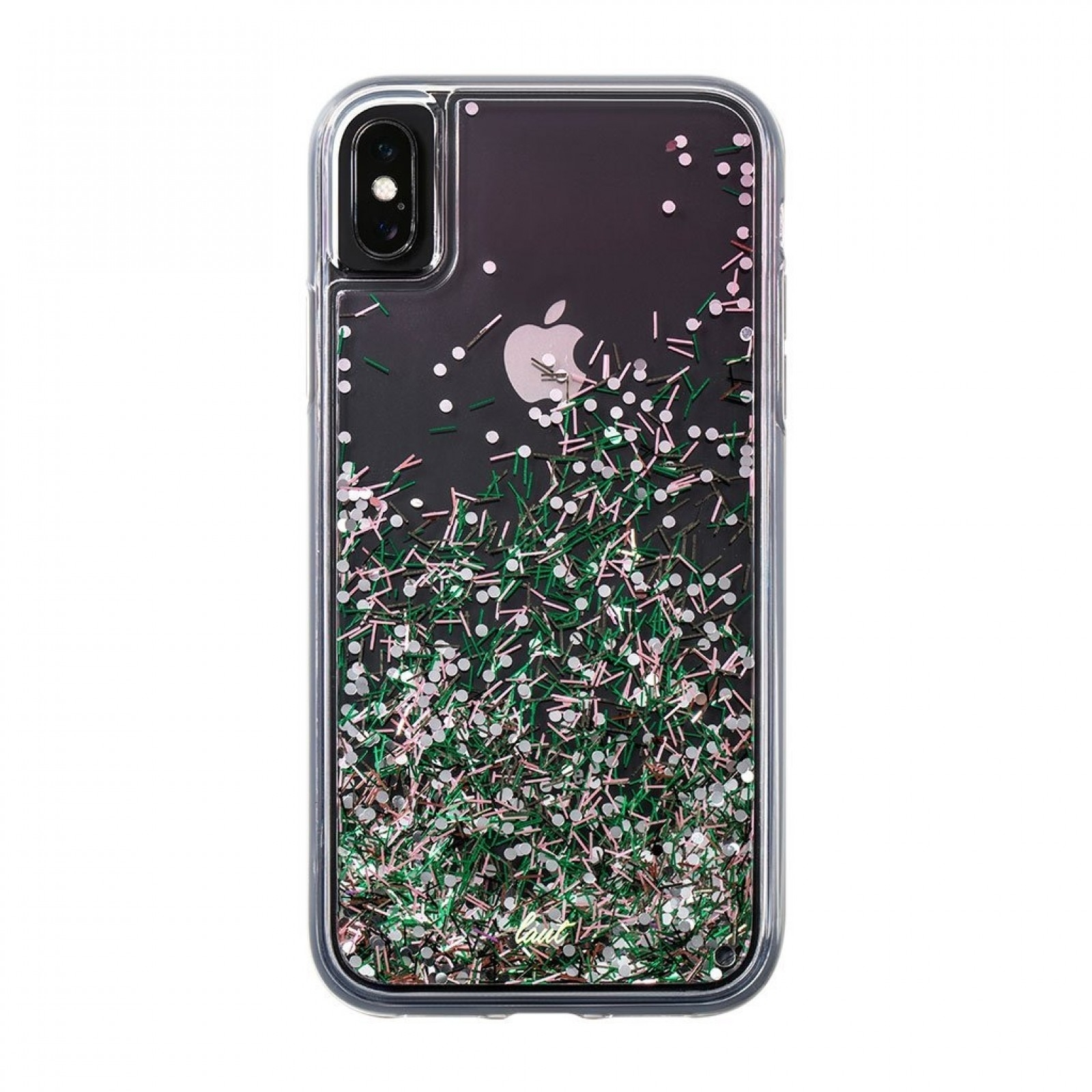 Laut Θήκη Liquid Glitter iPhone XS / X - Confetti Pastel (LAUT_IP18-S_LG_CPL)