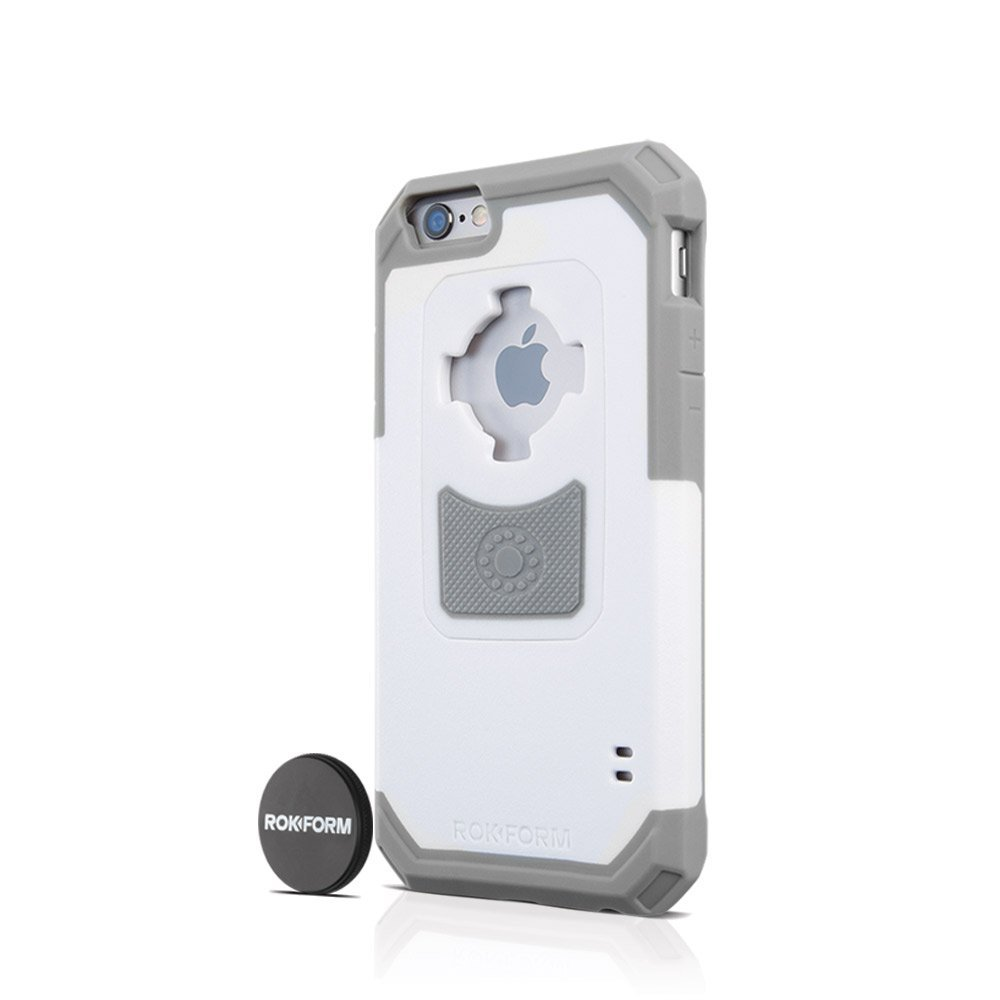 Rokform Θήκη iPhone 6/6S V3 με Μαγνητική Βάση Αυτοκινήτου - White/Light Grey (13 default category
