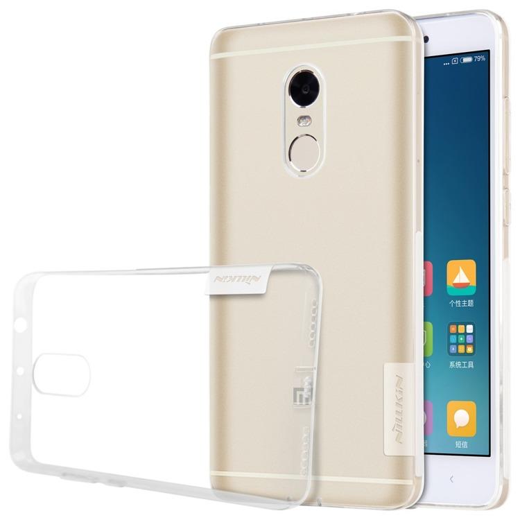 Nillkin Nature Ημιδιάφανη Θήκη Σιλικόνης Xiaomi Redmi Note 4 - White (139195)