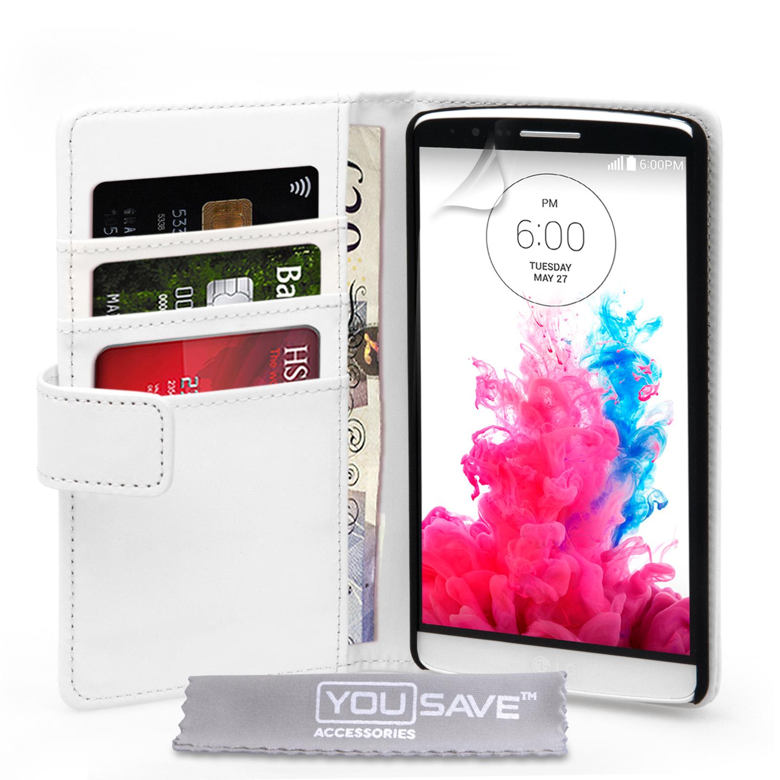 Θήκη LG G3 - Πορτοφόλι by YouSave (Z770)