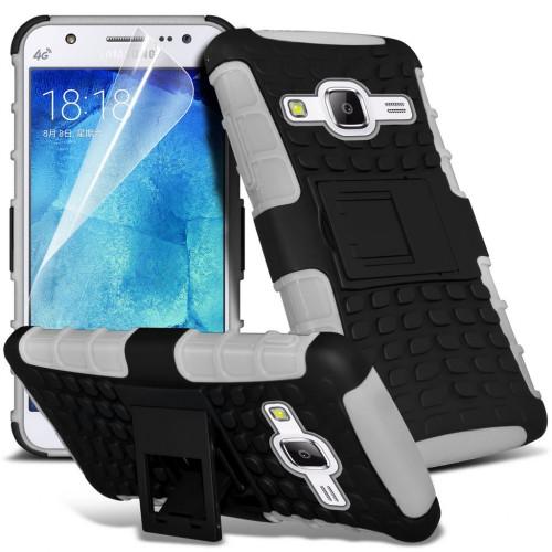 Ανθεκτική Θήκη Samsung Galaxy J5 (2015) (031-002-052) Λευκό - OEM