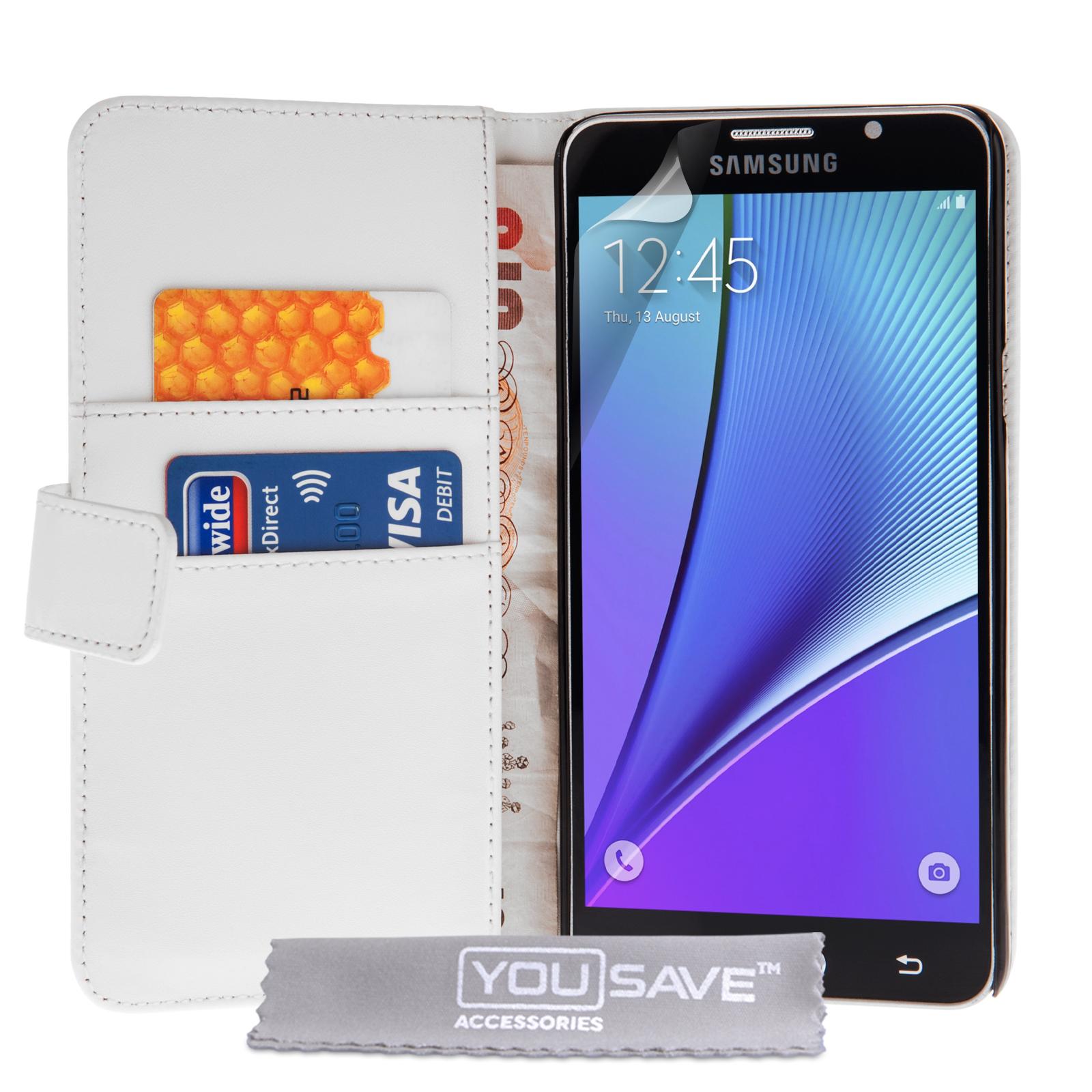 Θήκη Samsung Galaxy Note 5 - Πορτοφόλι by YouSave (SA-EA05-Z826)