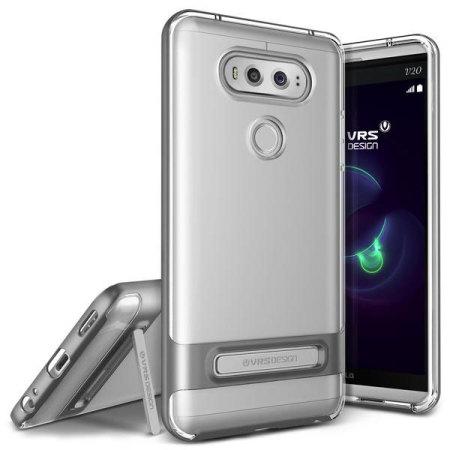 Verus Θήκη Crystal Bumper Series LG V20 - Dark Silver