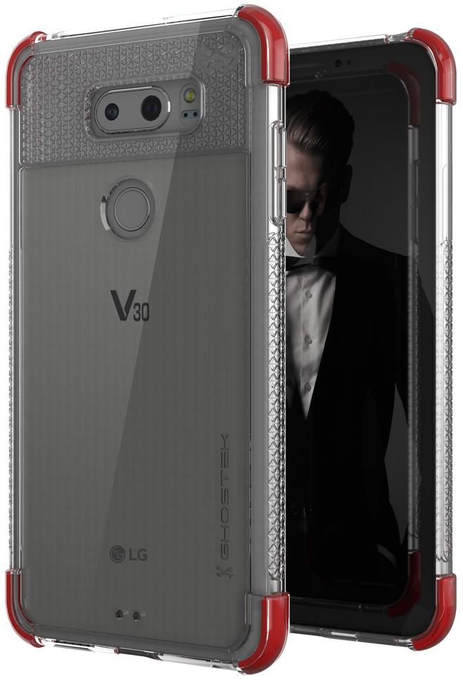 Ghostek Covert 2 Ανθεκτική Θήκη LG V30 - Red (CA-GHOCAS809-00)