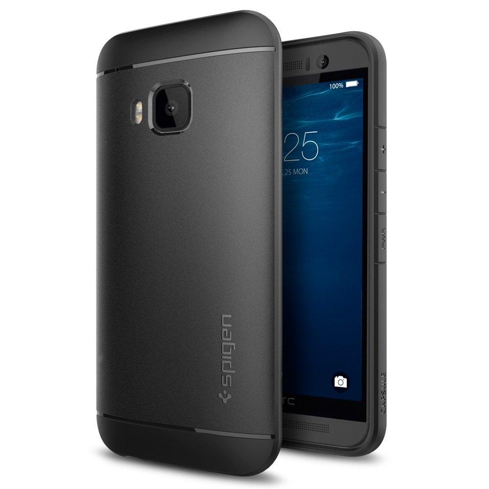 Spigen Θήκη Liquid Armor HTC One M9 - Black (SGP11451) θήκες κινητών