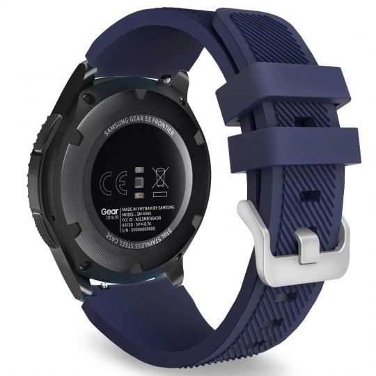 Ανταλλακτικό Λουράκι Σιλικόνης Samsung Galaxy Watch 46mm - Midnight Blue (14415) - OEM