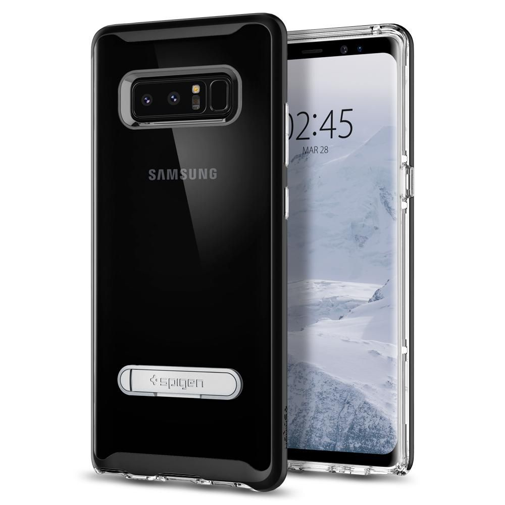 Spigen Crystal Hybrid Θήκη Samsung Galaxy Note 8 - Black (587CS21842)