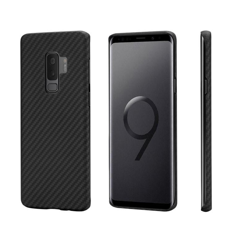 Pitaka MagCase - Θήκη Kevlar Body Samsung Galaxy S9 Plus - 0.65mm - Black (KS9001S)
