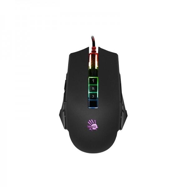 Bloody P85 Light Strike 5K RGB Animation Gaming Mouse - Black (P85BLACK)