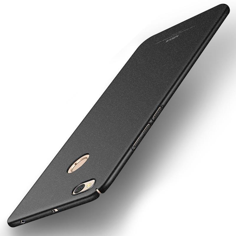 MSVII Super Slim Σκληρή Θήκη PC Xiaomi Redmi 4X - Black (E2-08)