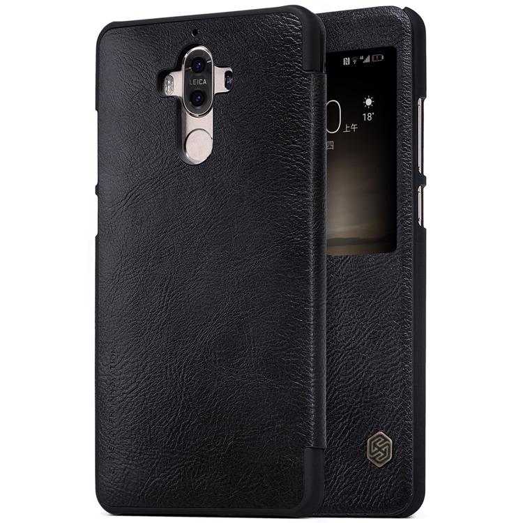 Nillkin Θήκη View-Flip Huawei Mate 9 - Black (139570)
