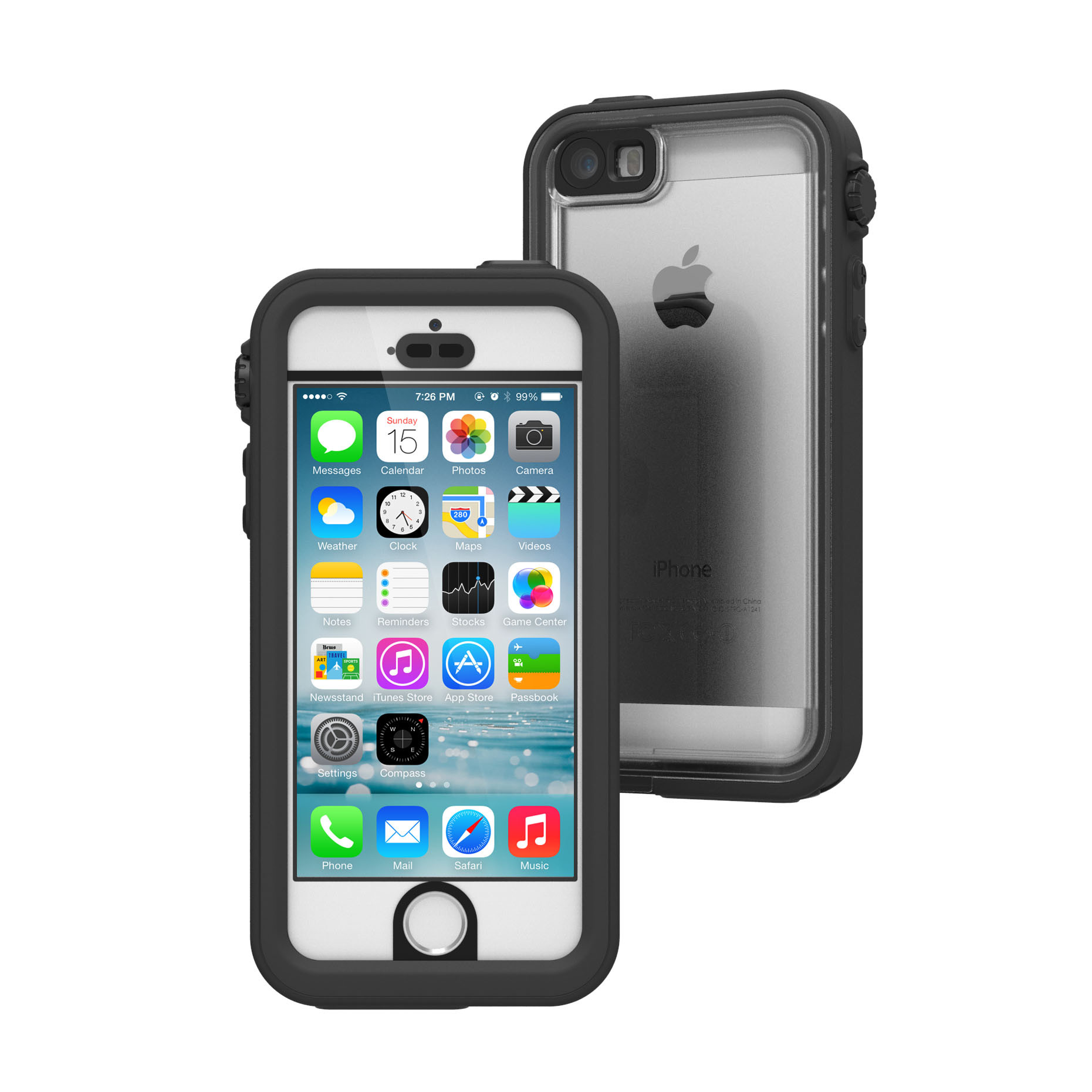 Αδιάβροχη Θήκη iPhone SE/5S/5 με TouchID by Catalyst