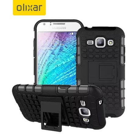 Ανθεκτική Θήκη Samsung Galaxy J1 (2015) by Olixar (54082)