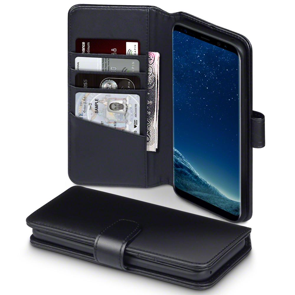 Terrapin Δερμάτινη Θήκη - Πορτοφόλι Samsung Galaxy S8 Plus - Black (117-002-956)