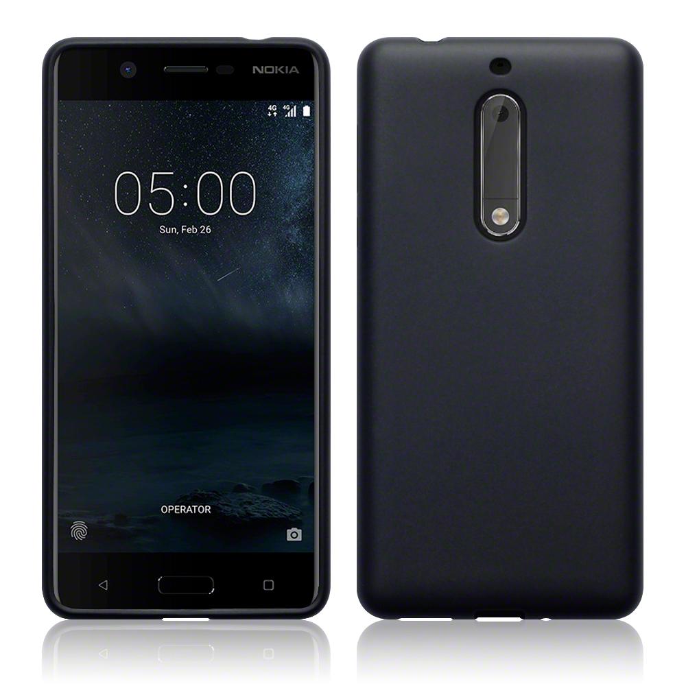 Terrapin Θήκη Σιλικόνης Nokia 5 - Black Matte (118-001-227)