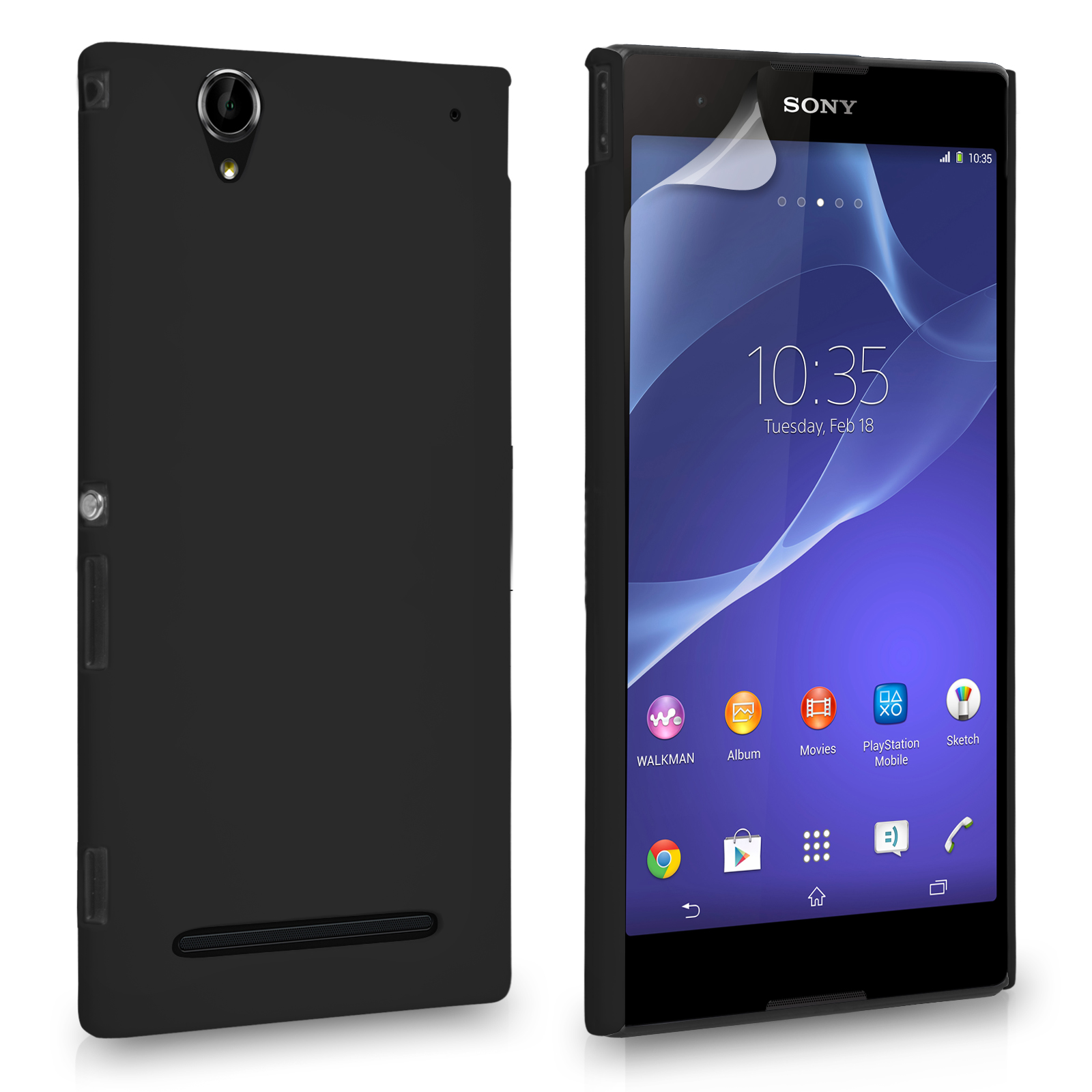 Θήκη Sony Xperia T2 Ultra by YouSave (Z577)